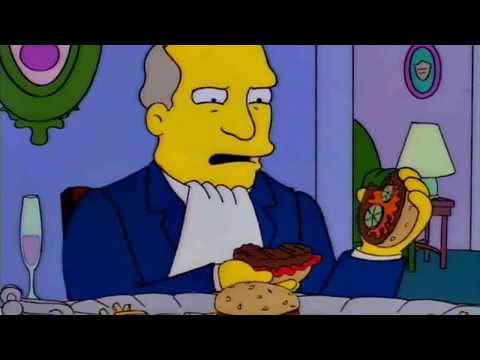 Steamed Hams but it's a series of JPEGs slowly decreasing in quality and file size