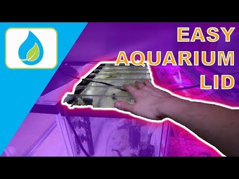 CHEAP EASY DIY AQUARIUM LID | 011