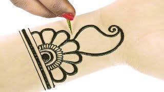 मेहंदी डिजाईन - Arabic Mehndi Design For Hands #43 @jaipurthepinkcity