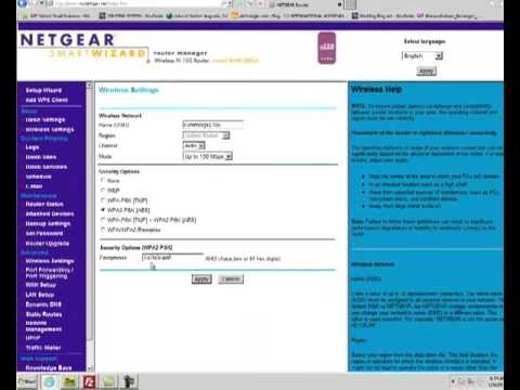 Netgear Wireless N150 Router WNR1000 Password Reset Tutorial