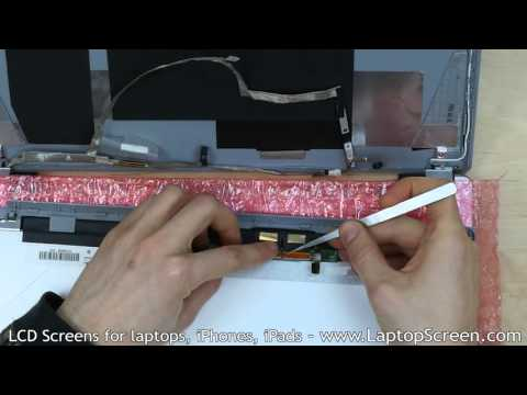 LCD and Touchscreen assembly replacement / LCD+digitizer repair [Acer ASPIRE V5-571P]