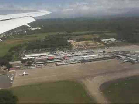 Take off Flight Puerto Plata-Punta Cana