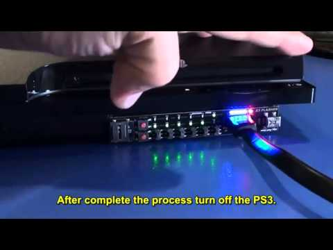 PS3 E3-Flasher Downgrade Slim 4.00 - 3.55