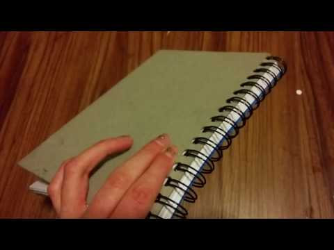 How to Make A Writers Notebook or Journal