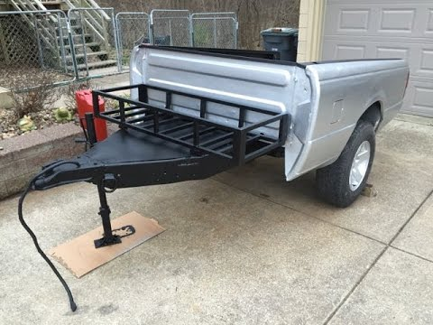 Off Road Truck Bed Trailer Body Work