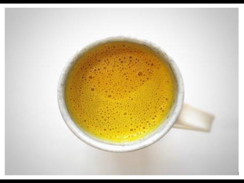 How to Make Golden Milk   Vegan Turmeric Tea