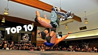 Top 10 - Wrestlers With Amazing Finisher