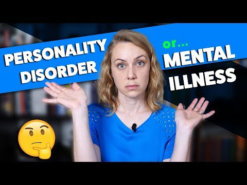 Are Personality Disorders Different From Mental Illness?