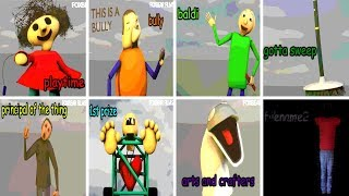 All Characters & Voices V1.3.2 - Baldi