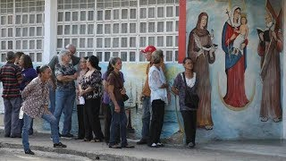 Venezuelans voted in local elections leading up to presidential vote