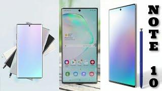 Samsung galaxy note 10 /note 10+ 2019 new Android 10 smartphone - best super - music - SCREENSHOTZ