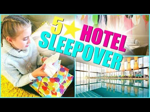 5 Star Hotel Sleepover - Sleepover Birthday Party