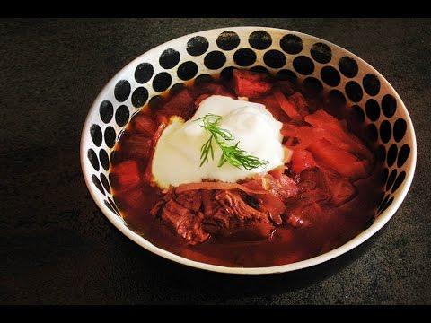 BORSCHT - Full Classic Russian Restaurant Recipe