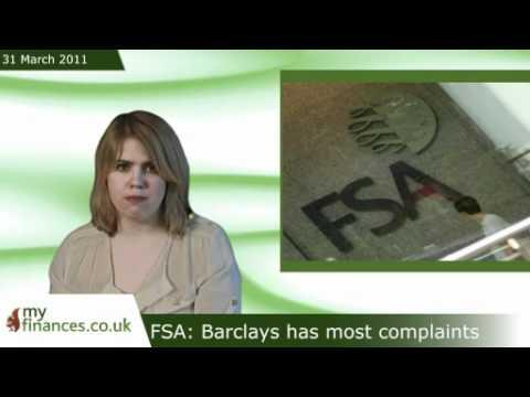 FSA: Barclays has most complaints