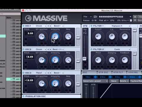HOW TO MAKE VOWELY ELECTRO PLUCKS WITH MASSIVE