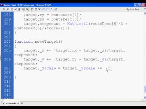 Flash Shooter Game 11 - Actionscript 2.0