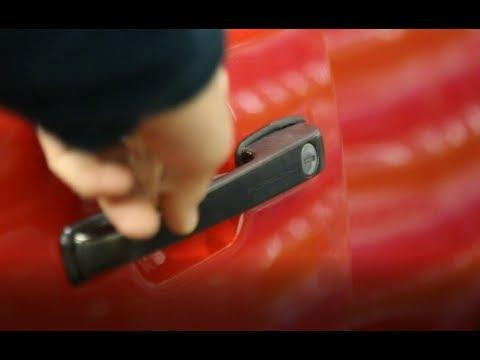 Porsche 944 Door handle repair & Operation - Fixing Broken Door mechanism