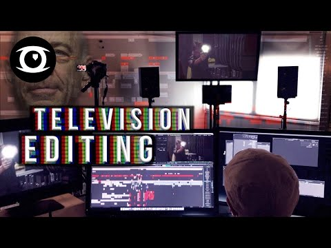 WHAT IT TAKES To Edit Big TV Shows