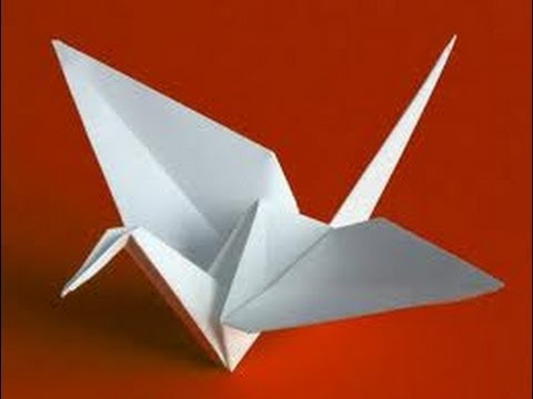 How To Make A Origami Flapping Crane