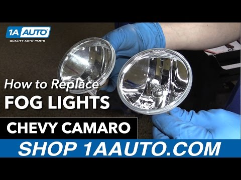 How to Replace Install Fog lights 11 Chevy Camaro