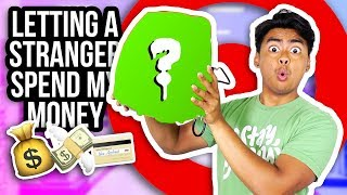 Random Stranger Spends My Money at Target!