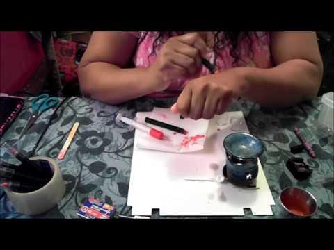 Part 2 of making crayon lipstick