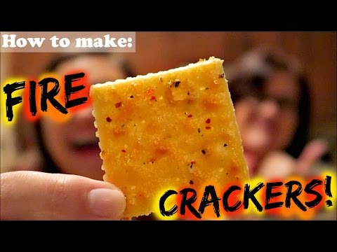 How to make FIRE CRACKERS!