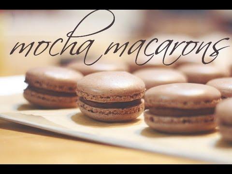 How to Make (Mocha) Macarons