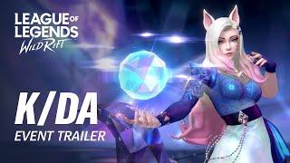 K/DA ALL OUT | Official Event Trailer - League of Legends: Wild Rift