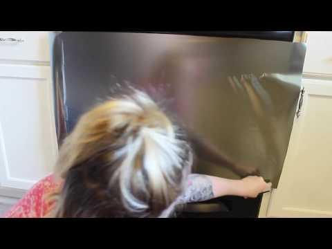 DIY Peel N Stick Stainless Steel!!  Laci Jane DIY