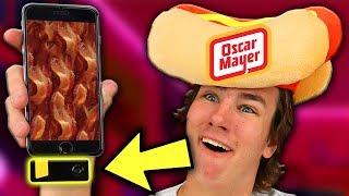 Oscar Mayer Made a Bacon iPhone Gadget?