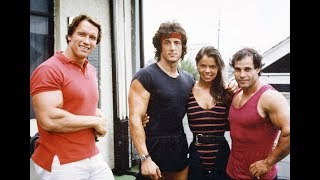 Sylvester Stallone, Arnold and Franco