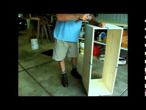 Making a dovetailed cedar chest
