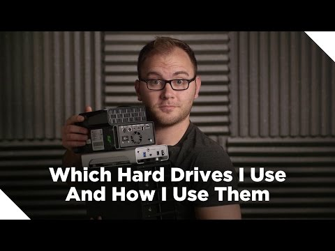 How I Use Hard Drives for Video Production