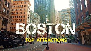 BOSTON, The Walking City || Travel Buddies Films ||