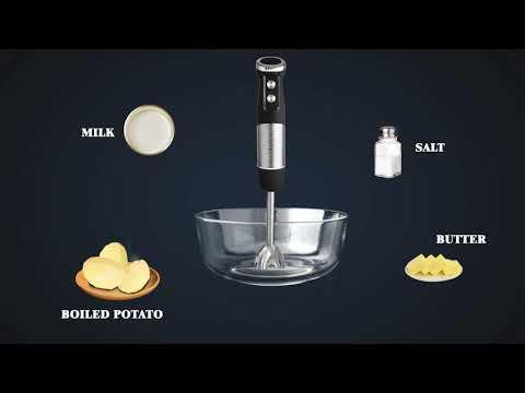 Hand Blender Set Recipe: Mashed Potato