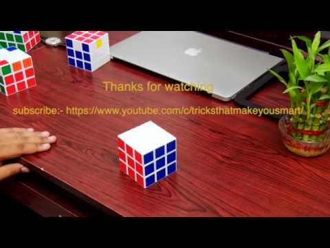 How To Solve 3x3 Rubiks Cube in 20 seconds