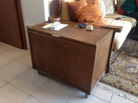wooden chest for firewood or whatever how to Simply Make it ...