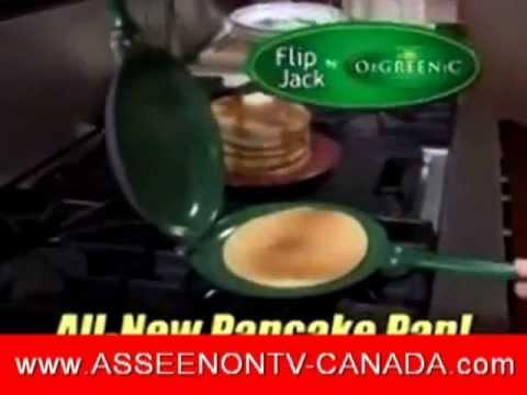 Orgreenic FlipJack Pan - As Seen on TV Canada