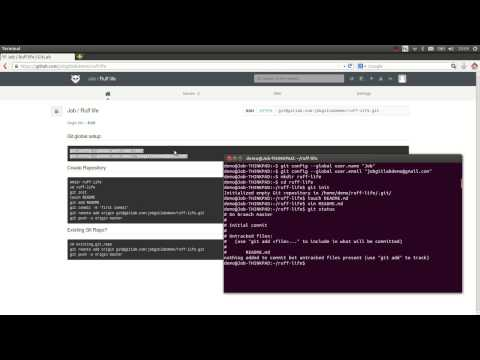 Getting started with Git and GitLab