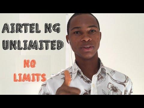 Airtel Nigeria Unlimited Internet Data Subscription Night & Day