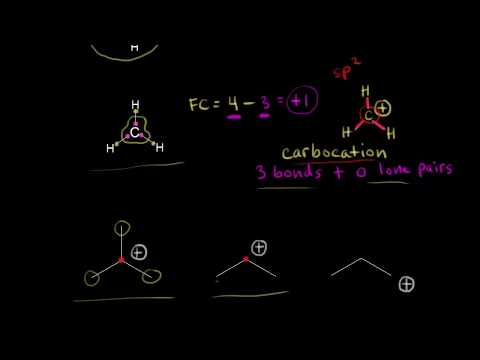 Formal charge on carbon | Resonance and acid-base chemistry | Organic chemistry | Khan Academy