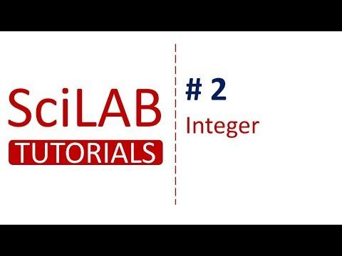 SciLab Tutorials # 2 - Integer Types in Scilab