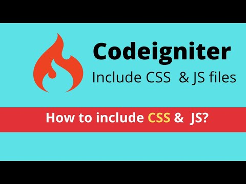Adding css & javascript in codeigniter