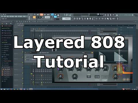 Layered Trap 808 Tutorial in FL Studio