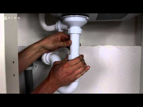 How to Install or Replace a Universal Telescopic P Trap or Appliance Trap