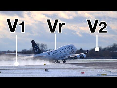 TAKE-OFF Speeds V1, Vr, V2! Explained by