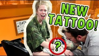 Revealing MY NEW TATTOO!