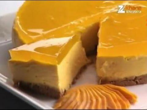 Mango Cheesecake - Sanjeev Kapoor - Khana Khazana