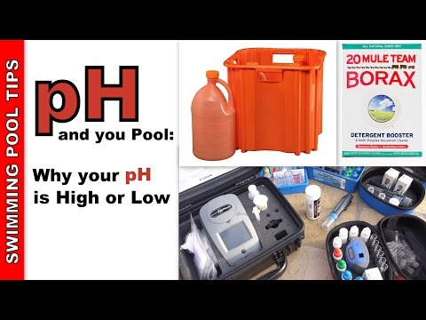 pH and your Pool: Why is your pH High or Low